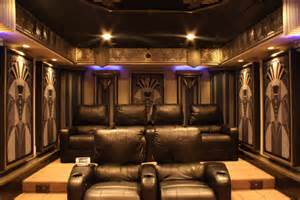 home theater design new york city new york art deco home theater design