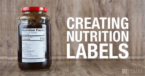 Create Nutrition Label Free