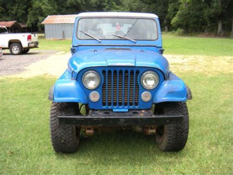 Used Jeeps For Sale In Alabama Purchase Used 1979 Jeep Cj7 Base Sport Utility 2 Door 5 0l