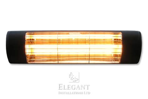 awning heaters infrared quartz electric patio awning heaters by elegant