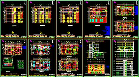 hospital clini dwg section  autocad designs cad
