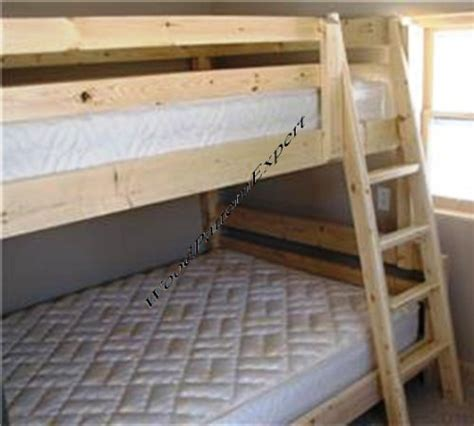 woodwork cheap easy bunk bed plans  plans