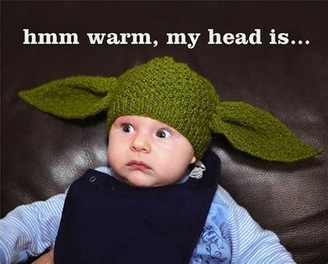 yoda knit hat the yoda baby hat wear or wear not bit rebels