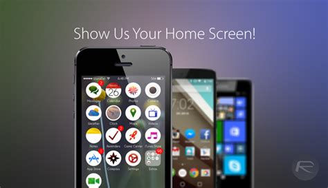 show us your phone s home screen setup redmond pie