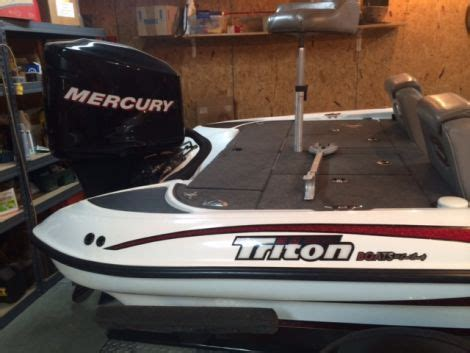 tritoon boats for sale in va 2006 triton tr 186 tr186 fishing boat for sale in kents