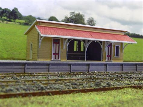 qr wacol station kit pre 60 s era ho scale model