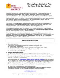 daycare business plan template 8 best images of day care business plan template child