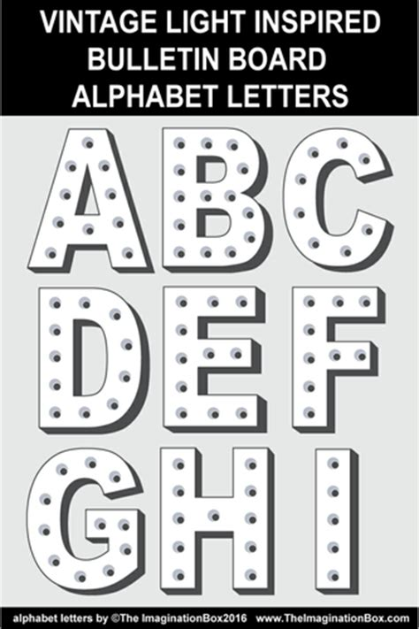pattern for cutting letters for bulletin boards the the imagination box teaching resources tes