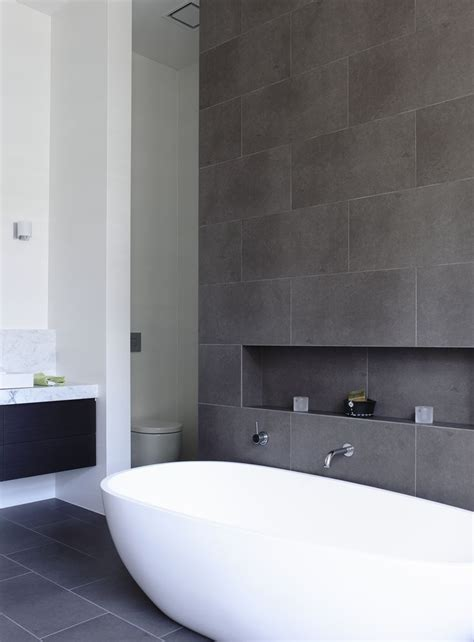 slate grey tiles bathroom best 25 bathroom feature wall ideas on pinterest