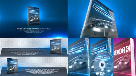dvd menu templates after effects product revealer by haerotv videohive