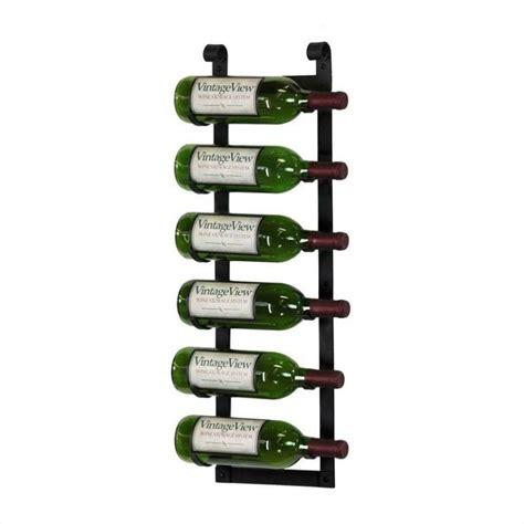 Mounted Wine Rack by Vintageview Wall Mount 6 Bottle Wine Rack In Rustic Black