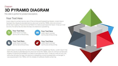 3d pyramid template 3d pyramid diagram powerpoint and keynote template