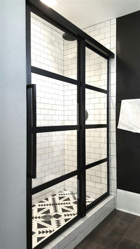 divided light shower doors gridscaps series true divided light factory windowpane