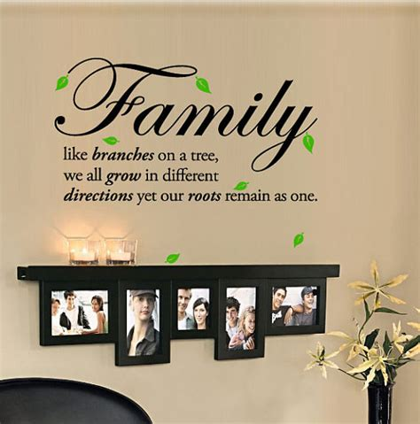 family like branches on a tree we all grow in different by