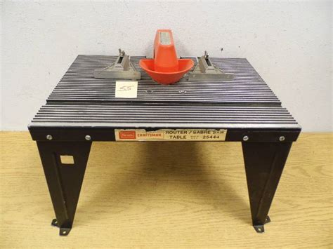 Sears Router Table by Sears Router Table October 6 Consignment K Bid