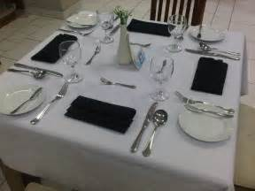 Table Set Up by Fine Dining Table Set Up Picture Images