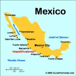 Ixtapa Mexico Map by Cruiseportinsider Com Ixtapa Zihuatanejo Basics