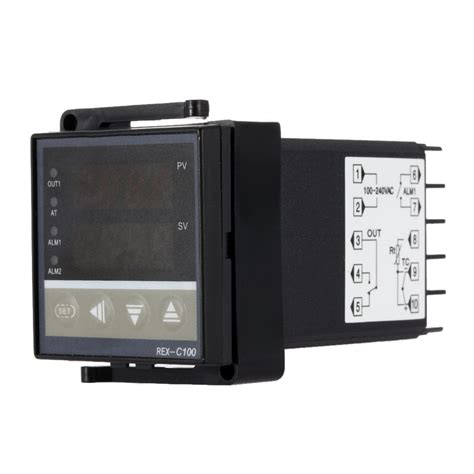 Thermocouple Thermostat digital temperature controller led pid thermocouple
