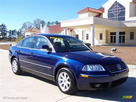 blue volkswagen passat 2004 shadow blue metallic volkswagen passat gls tdi sedan