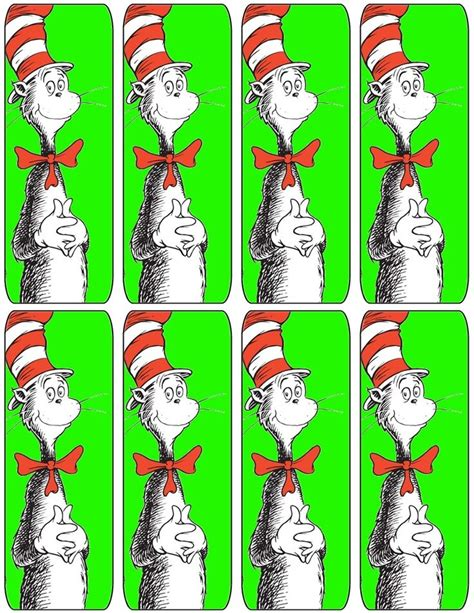 free printable lorax bookmarks 125 best images about dr seuss on pinterest cats