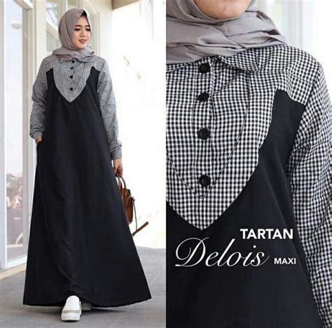 Gamis Remaja Instagram Gamis Remaja Terbaru Maxi Delois Baju Muslim Modern