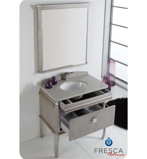 bathroom vanities london fresca platinum fpvn7524sa london 32 quot antique silver
