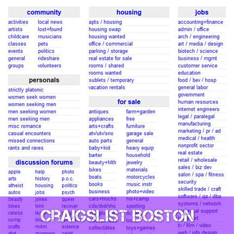 Craigslist Boston Garage Sales by Craigslist Boston Www Craigslist Boston Craigslist