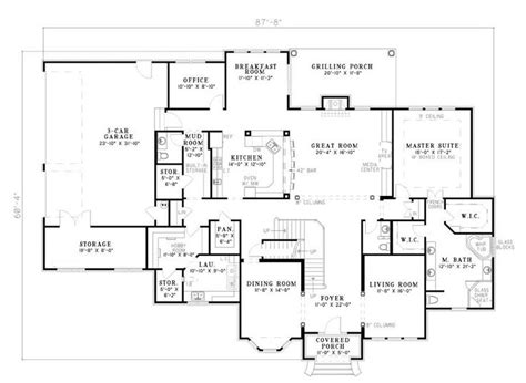 master bedroom upstairs floor plans amazing 2 story 4 bedroom first floor master amazing
