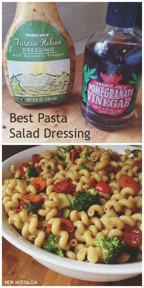 pasta salad dressings best pasta salad dressing