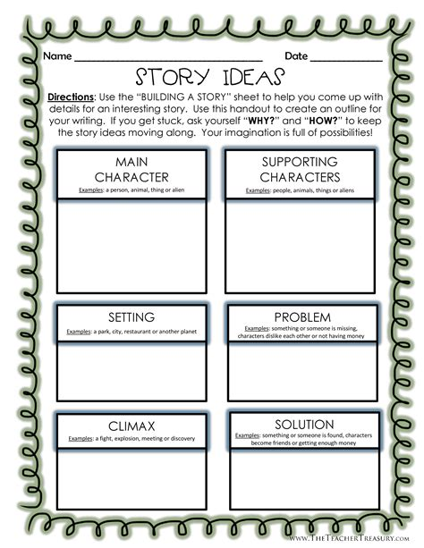 a story building a story creative writing outline