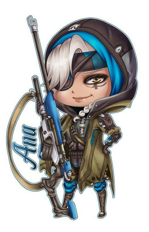 crusaders of light reddit overwatch chibi ana by sassie kay on deviantart