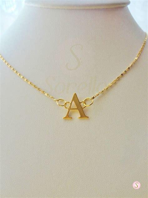 cadenas con nombre chapa de oro 12 best iniciales sorella images on pinterest initials