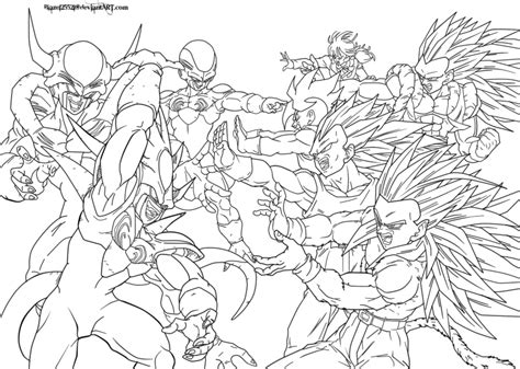 dragon ball goku ssj3 coloring pages coloring pages