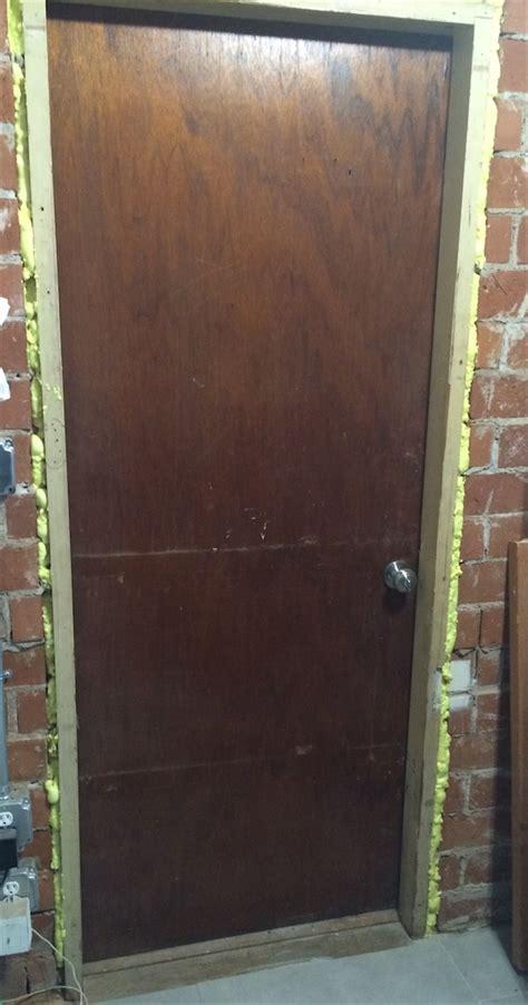 Exterior Door Insulation How To Add Insulation To A Hollow Exterior Door Home Improvement Stack Exchange