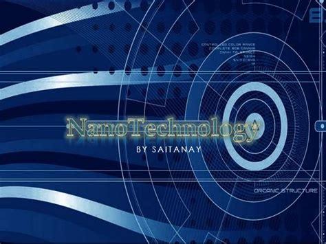 nanotechnology authorstream