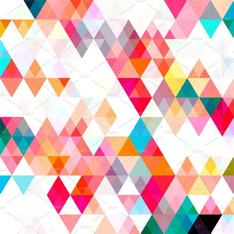 triangle color pattern patterns creative market