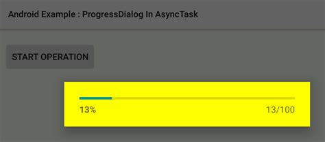 asynctask android exle how to show progressdialog in asynctask in android