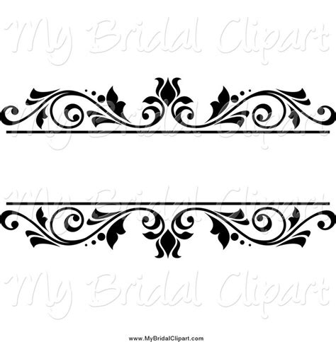 free wedding clipart bridal clipart of a black and white floral wedding frame