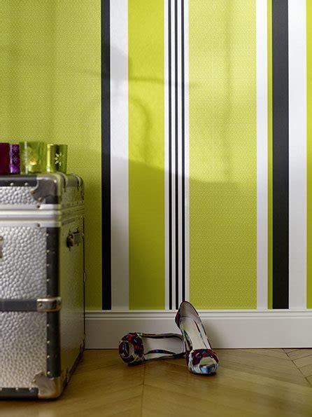 Wand Mit Streifen by Wandgestaltung In Streifen W 228 Nde Im Streifenkleid