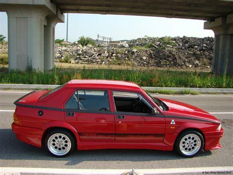 alfa romeo 75 turbo sunday classic alfa romeo 75 turbo evoluzione ran when