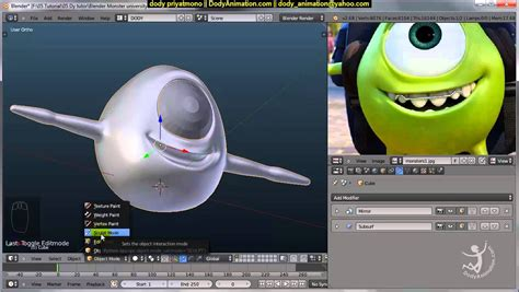 tutorial blender monster video tutorial bahasa indonesia monster university