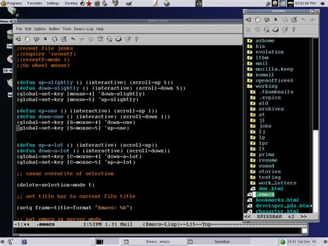 tutorial emacs linux emacs gnu look a sneak preview of emacs 21 0 the more