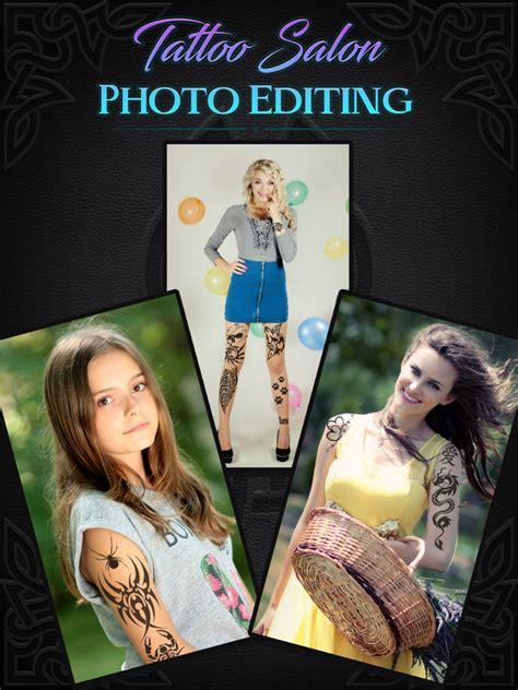 tattoo yourself photo editor online app shopper tattoo salon photo editing try artist