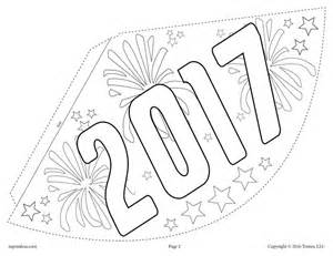 new years hat template free printable new year s hat activity craft 3