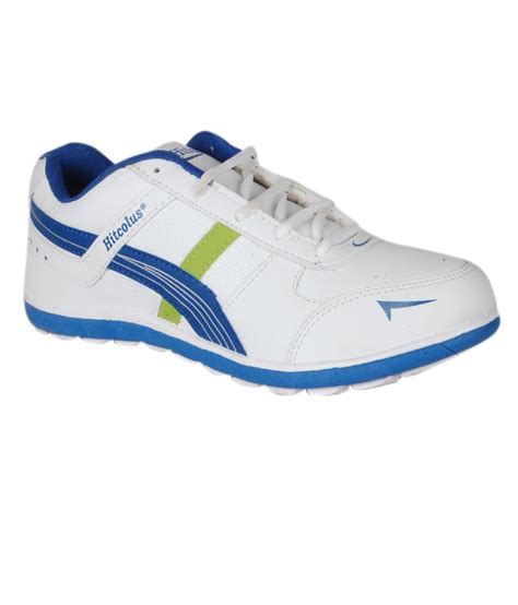 buy hitcolus white and royal blue casual shoes for