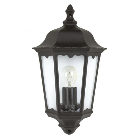 Black Light Outdoor Outdoor 4201 Wall Light In Black