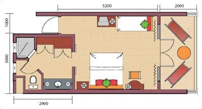 plan chambre d hotel hotel veranda paul et virginie 3 ile maurice hotel 3
