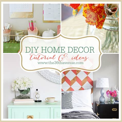 home decor tutorial home decor diy projects the 36th avenue