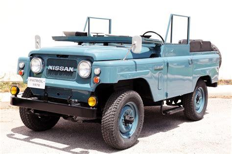 nissan patrol classic nissan patrol l60 introduced in 1960 nissan patrol l60