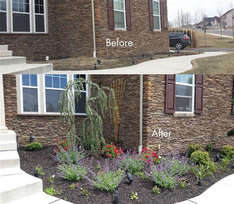 low maintenance flower beds bucks county digital landscaping design backyard